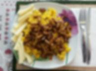 """Веганская кухня. Вегетарианская кухня. Веганские рецепты. Вегетарианские рецепты. Веганские блюда с фото. Вторые блюда. Ризотто с """"грибами"""" из сейтана"""
