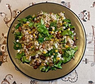 Веганская кухня. Вегетарианская кухня. Веганские рецепты. Вегетарианские рецепты. Веганские блюда с фото. Вторые блюда.  Ячмень с бобовыми