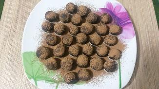 Миндально-арахисовые трюфели