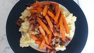 Веганская кухня. Вегетарианская кухня. Веганские рецепты. Вегетарианские рецепты. Пшённая каша с морковью и фасолью