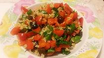 Веганская кухня. Вегетарианская кухня. Веганские рецепты. Вегетарианские рецепты. Веганские блюда с фото. Рис с помидорами, петрушкой и болгарским перцем