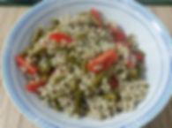 Веганская кухня. Вегетарианская кухня. Веганские рецепты. Вегетарианские рецепты. Веганские блюда с фото. Вторые блюда. Зеленая гречка с помидорами и стручковой фасолью