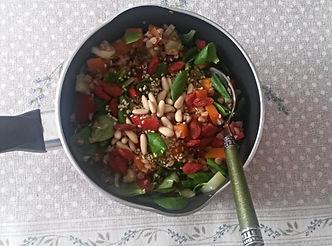 Веганская кухня. Вегетарианская кухня. Веганские рецепты. Вегетарианские рецепты. Веганские блюда с фото. Вторые блюда. Гречка с овощами и орешками