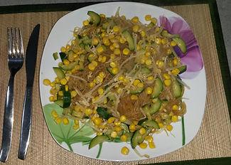 Веганская кухня. Вегетарианская кухня. Веганские рецепты. Вегетарианские рецепты. Веганские блюда с фото. Вторые блюда. Соевая лапша с кукурузой