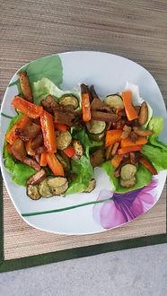 Веганская кухня. Вегетарианская кухня. Веганские рецепты. Вегетарианские рецепты. Веганские блюда с фото. Вторые блюда. Цукини и морковь с мясом сейтан