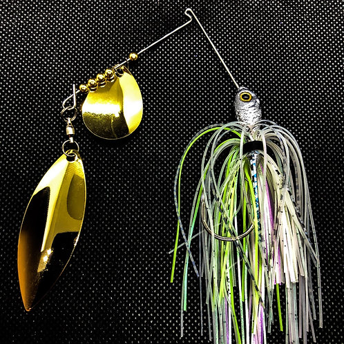 Gold Chartreuse Shad