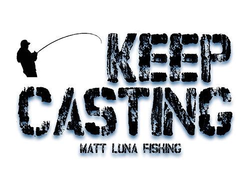 Keep Casting Sticker