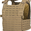 Thumbnail: SPITFIRE PLATE CARRIER  COYOTE BROWN