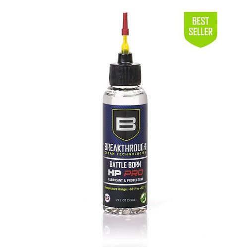Battle Born HP Pro Lubricant and Protectant  2 fl oz Bottle