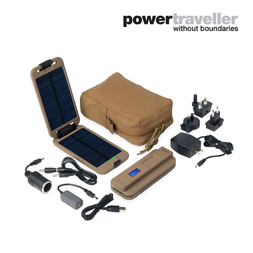 POWERMONKEY EXTREME TACTICAL WATERPROOF RUGGED SOLAR POWERED CHARGER In Stock Qt