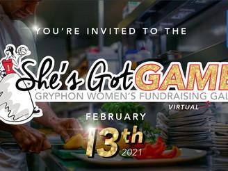 2021 She's Got Game Virtual Gala