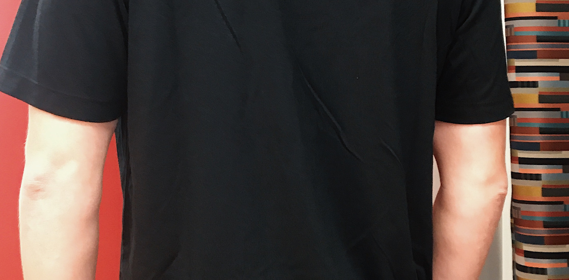 Crewneck Black Unisex Tshirt