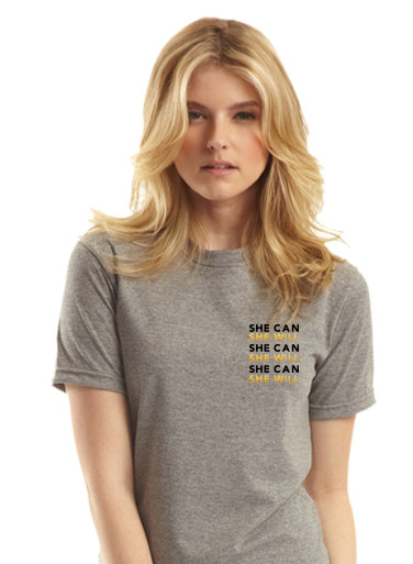 She Can, She Will Unisex Tee