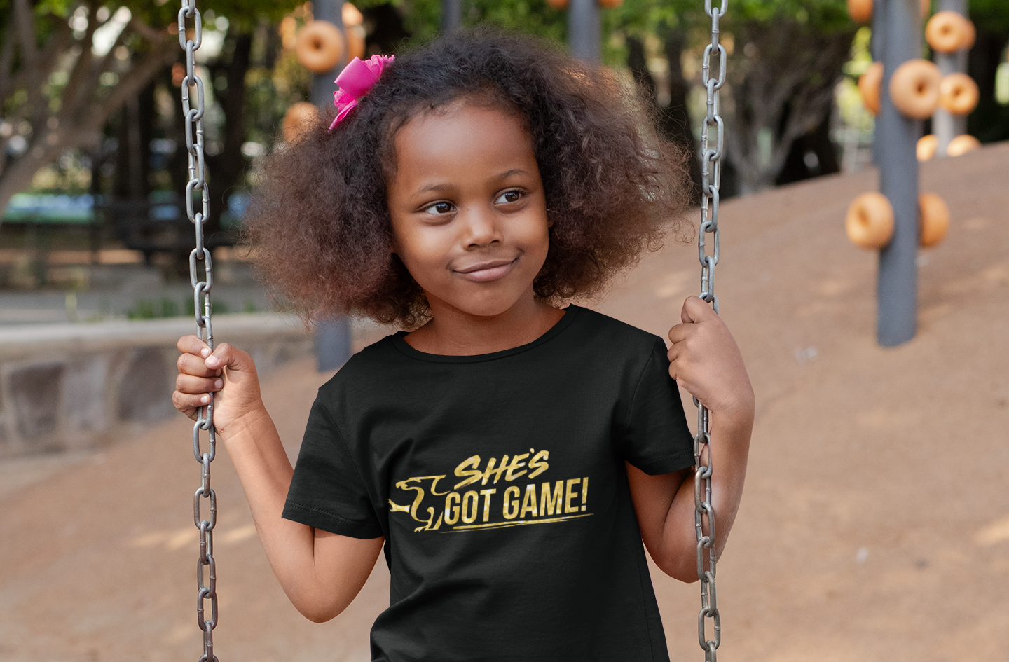 """She Can, She Will"" Children's Tee"