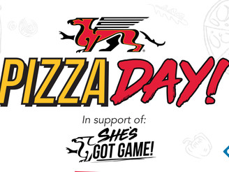 3rd Annual She's Got Game Domino's Pizza Day is Feb. 9, 2021