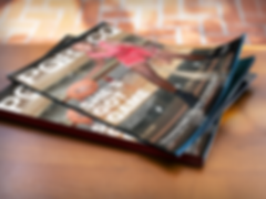mockup-of-2-magazines-lying-on-top-of-a-