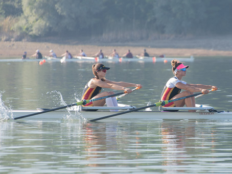 Athlete Spotlight: Carly Zanatta and Kaitlyn Dennis (Rowing)
