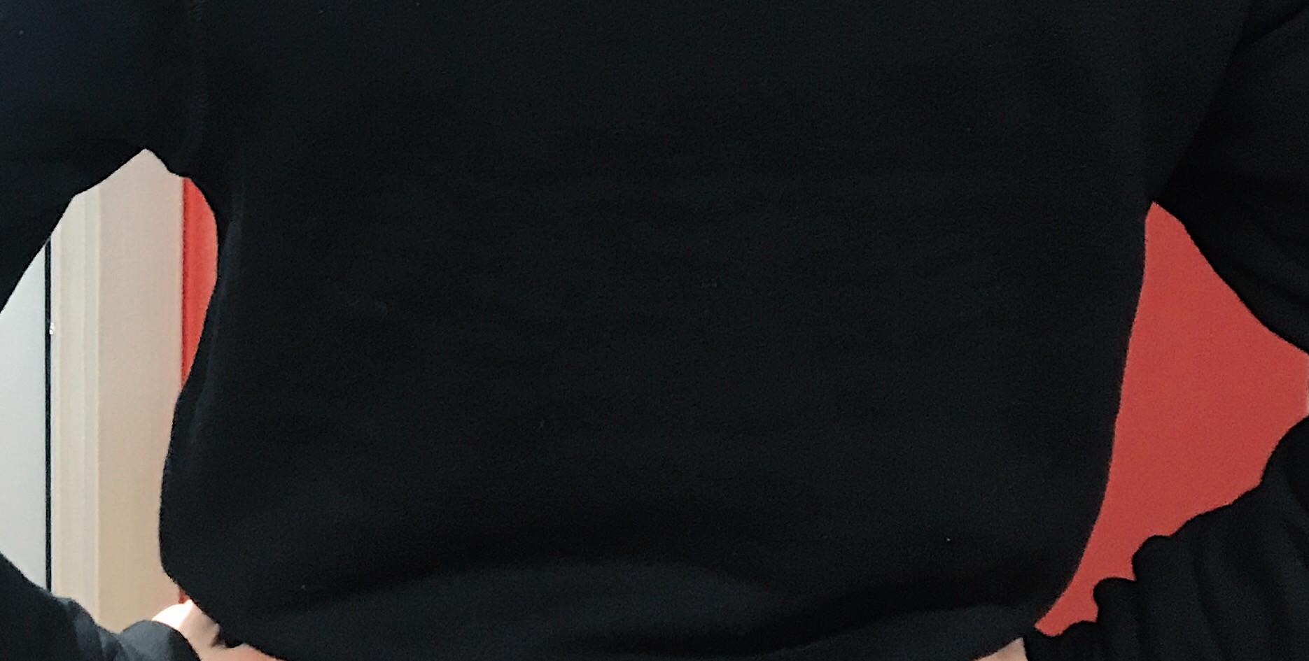 Crewneck Black Unisex Sweater