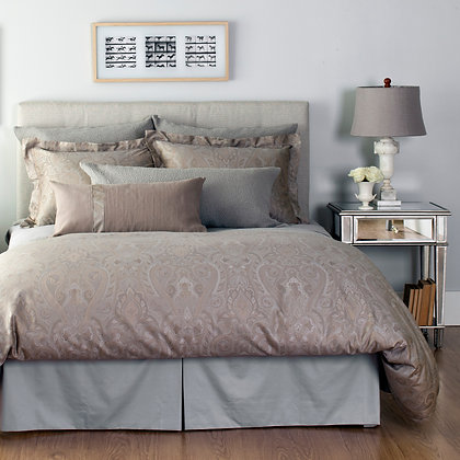 Yvette Grey Duvet Cover Set