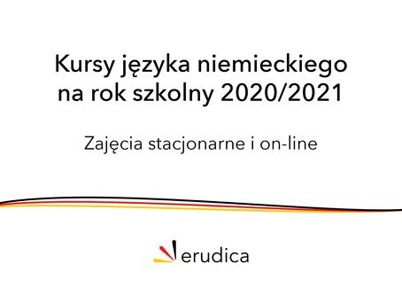 Zapraszamy do zapisów na rok szkolny 2020/2021!