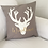 Thumbnail: Rustic Deer Pillow