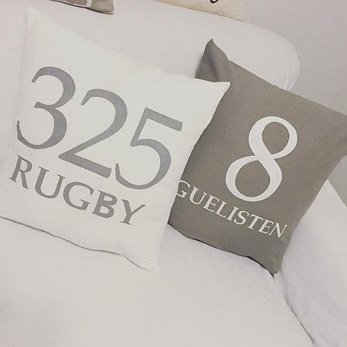 Custom Address Pillows