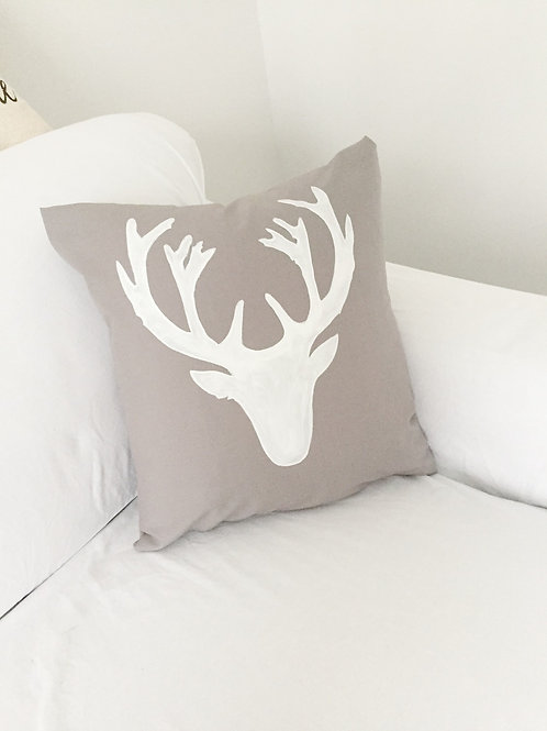 Rustic Deer Pillow