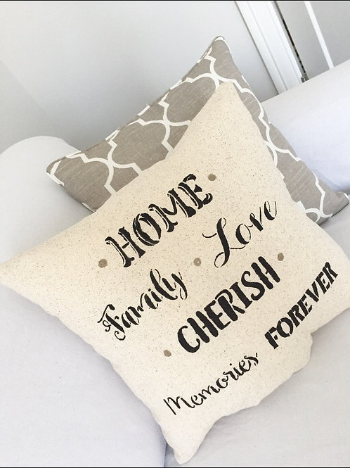 Home Family Love Pillow