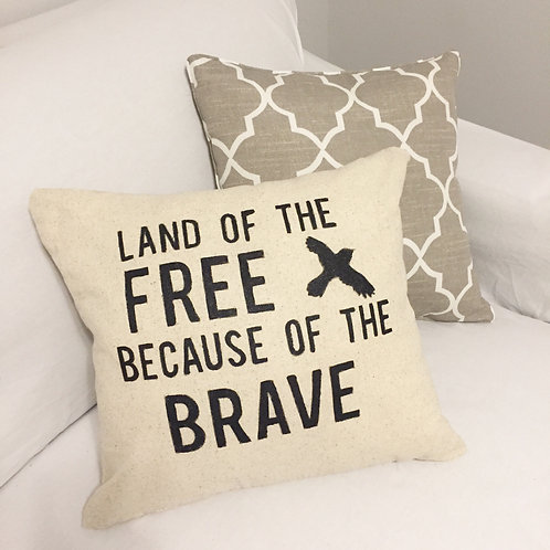 Pre-designed Patriotic Pillows