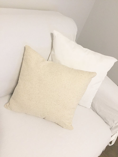 Custom Square Word Pillow