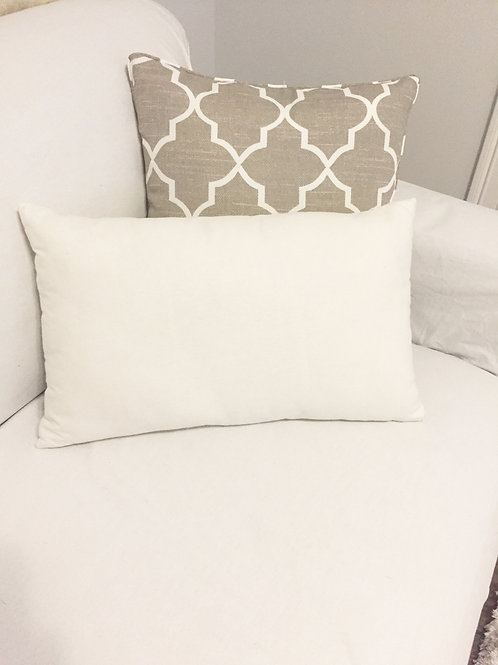 Custom Rectangle Word Pillow
