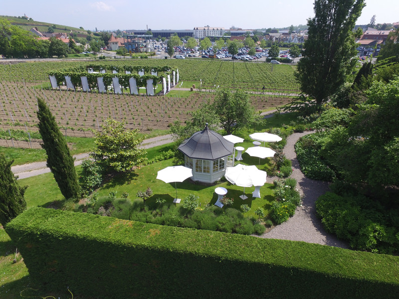 Pavillon und RebArena