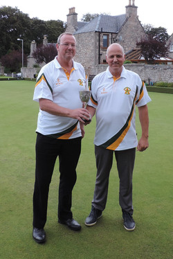 Grant Cup Winners - Hugh and Dave