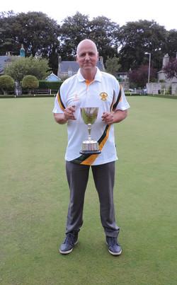 Club Champion 2016 Hugh McBean