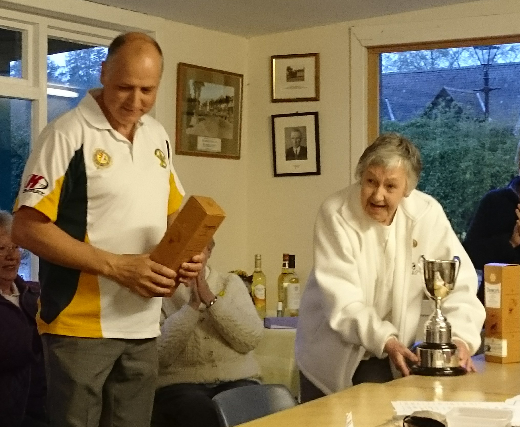 Cawdor - Walker Cup winners