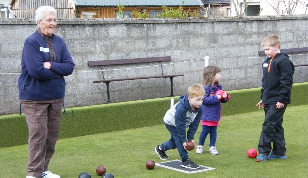 Try Bowls day - the kids enjoyed it