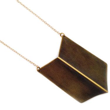 Chevron Necklace-large