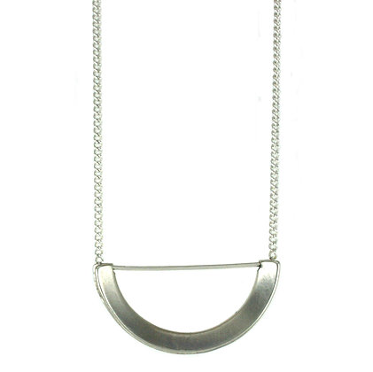Nora necklace-silver