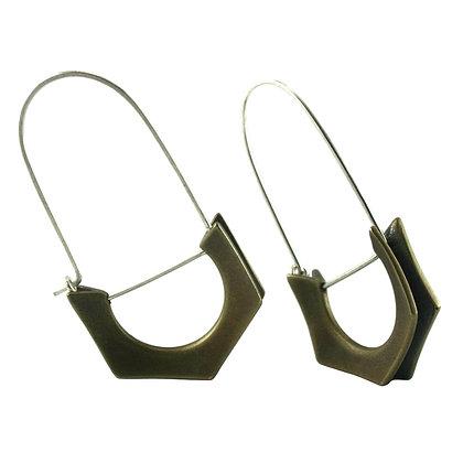 Dana Earrings-bronze