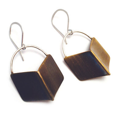 Chevron Earrings-large