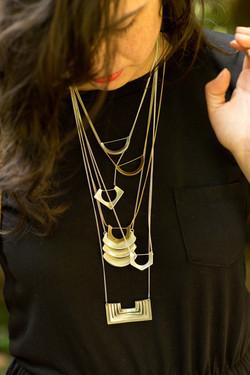 Oliva Metal Studio Necklaces