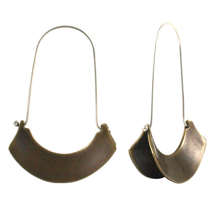 Banu Earrings-bronze