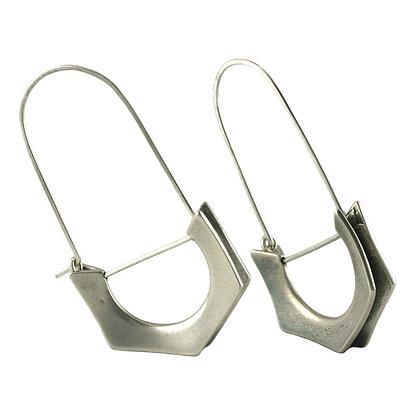Dana Earrings-silver