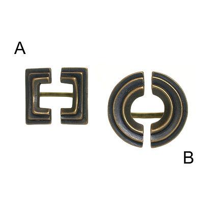 Atonia & Diya Rings-bronze