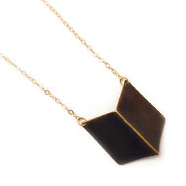 Chevron Necklace-medium