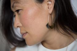 Banu Earrings-bronze