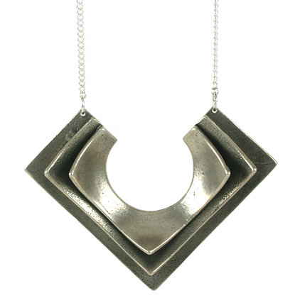 Lena necklace-silver