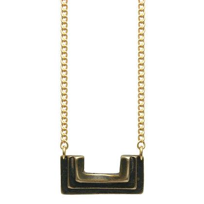 Small Atonia Necklace-bronze