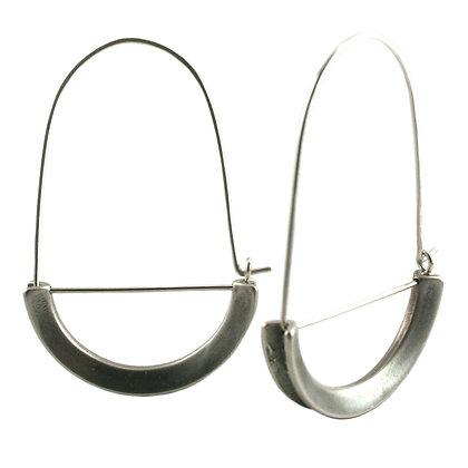 Nora earrings-silver