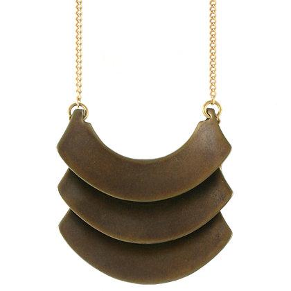 Banu Necklace-bronze